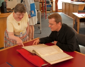 Rev. Steven Saxby looks at Nathaniel Bryceson's original diary