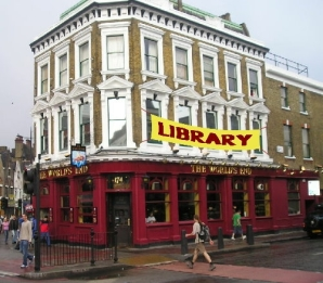 Is this the future? Libraries in pubs.