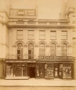 Dr Jaeger's Sanitary Woollen System Co Ltd, Regent Street, 1898. Image property of Westminster City Archives.
