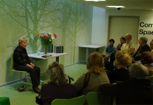 Ruth Rendell at Church Street Library