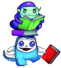 Aliens need books too!