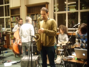 Polar Bear soundcheck at Westminster Reference Library