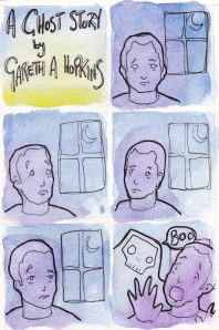 A Ghost Story, by Gareth A Hopkins