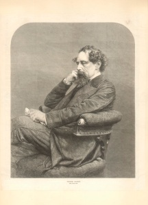 Portrait of Dickens after he had become a famous author. Image property of Westminster City Archives.
