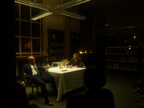 The Restaurant, by Neil Turner, performed at Westminster Reference Library