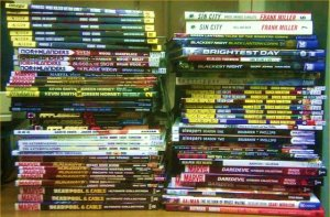 New Graphic Novel stock at Victoria Library