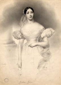 Giulia Grisi was one of the premier opera stars of her day. Image property of Westminster City Archives.