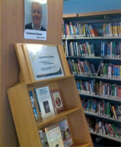 Customer Choice display at St James's Library