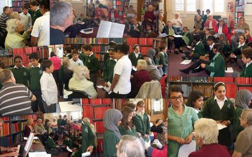 West End at War singalong and reminiscence event at Westminster Music Library