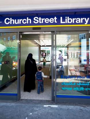 Church Street Library has an established English Speaking Club for Ladies, and a newly started one for men.