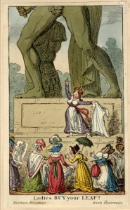 Some statues in Westminster have been rather controversial - the Achilles statue in Hyde Park was accused of exposing too much anatomy! Image property of City of Westminster Archives.