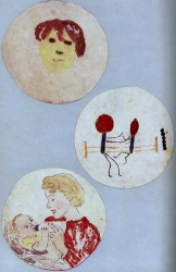 Alexander Fleming painted pictures with bacteria!
