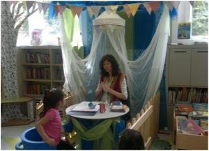 The 'Read Your Future' Tent at Queen's Park Library