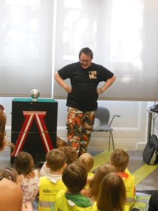 Crazy Colin's Magic Reading Show at Victoria Library
