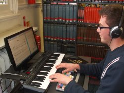 Sibelius software for customer use - at Westminster Music Library