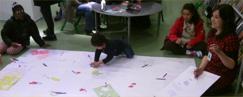 The Big Draw at Church Street Library