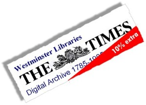 About the Times Digital Archive