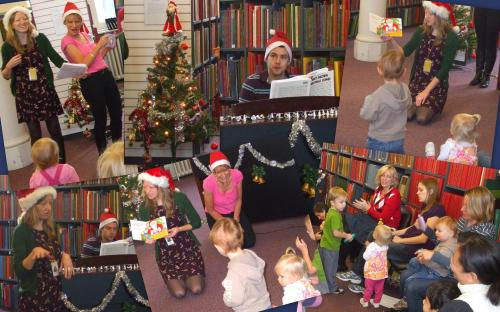 Westminster Music Library's Under 5s Christmas Party