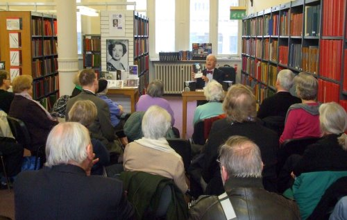Paul Campion talks about Kathleen Ferrier at Westminster Music Library