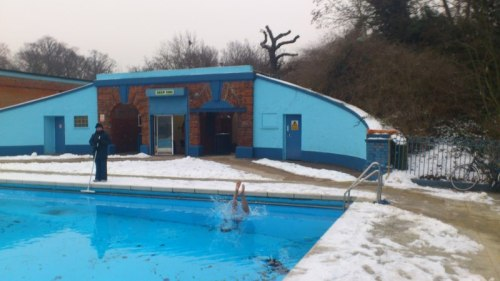 Great Leap Forward in Tooting Lido