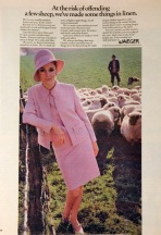 A Jaeger advert from 1965-67 - Image copyright of Jaeger Co