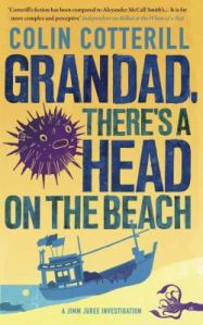 Grandad, there's a head on the beach, by Colin Cotterill