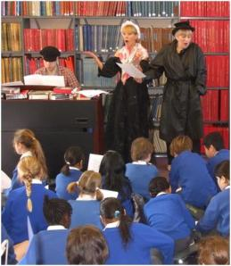 Oliver Twist sing-along at Westminster Music Library