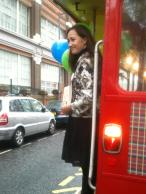 Sophie Kinsella on the Number 9 Bus for World Book Night