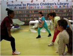 Cocojam at Pimlico Library