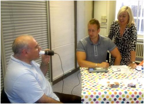 COPD lung function testing at Marylebone Library