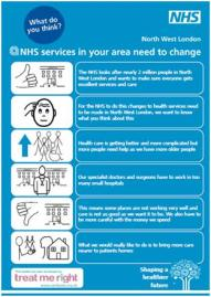 Shaping a healthier future - NHS consultation