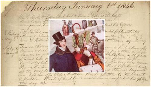 Nathaniel Bryceson diary 1 Jan