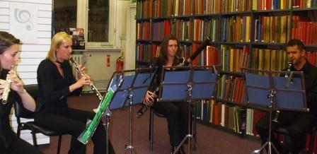 Coloratura Enemble at Westminster Music Library, October 2012