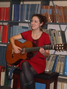 Kaz Simmons at Westminster Music Library, November 2012