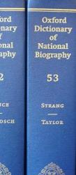 The Oxford Dictionary of National Biography