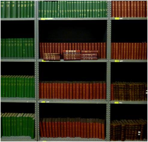 Bound periodicals at Marylebone Information Service