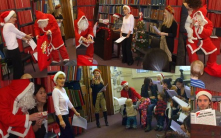 Under 5s Christmas Extravaganza 2012 at Westminster Music Library