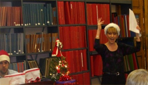 Christmas Open Evening at Westminster Music Library 2012