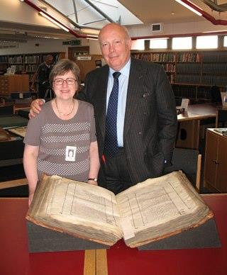 Alison the Archivist and Julian Fellowes