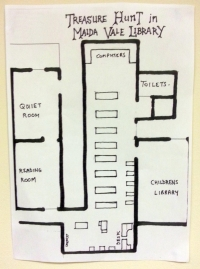 Treasure Map of Maida Vale Library