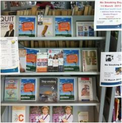 13 March 2013 - National No Smoking Day at Church Street Library