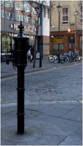 Commemorative pump in Brewer Street, Soho - picture courtesy of Helen Rogers