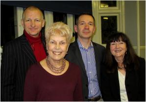 Ruth Rendell at Mayfair Library, February 2013