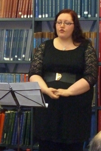 Sara Johansen at Westminster Music Library, March 2013