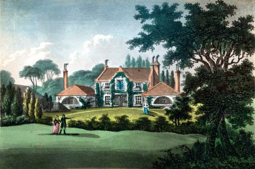 Westbourne Farm, the home of Sarah Siddons. Image property of Westminster City Archives.