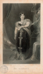 Sarah siddons as Lady Macbeth. Image property of Westminster City Archives.