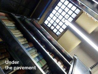 Marylebone Library stacks...