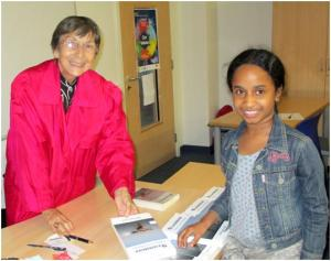 Judyth Gregory-Smith at Pimlico Library