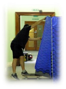 Movers at Marylebone Library
