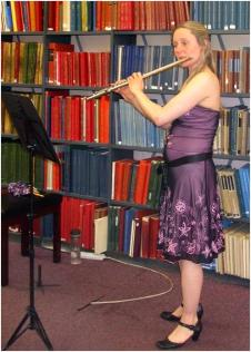 Rachel Smith at Westminster Music Library, June 2013